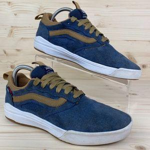 Vans UltraRange Pro Dress Blue Suede Sneakers